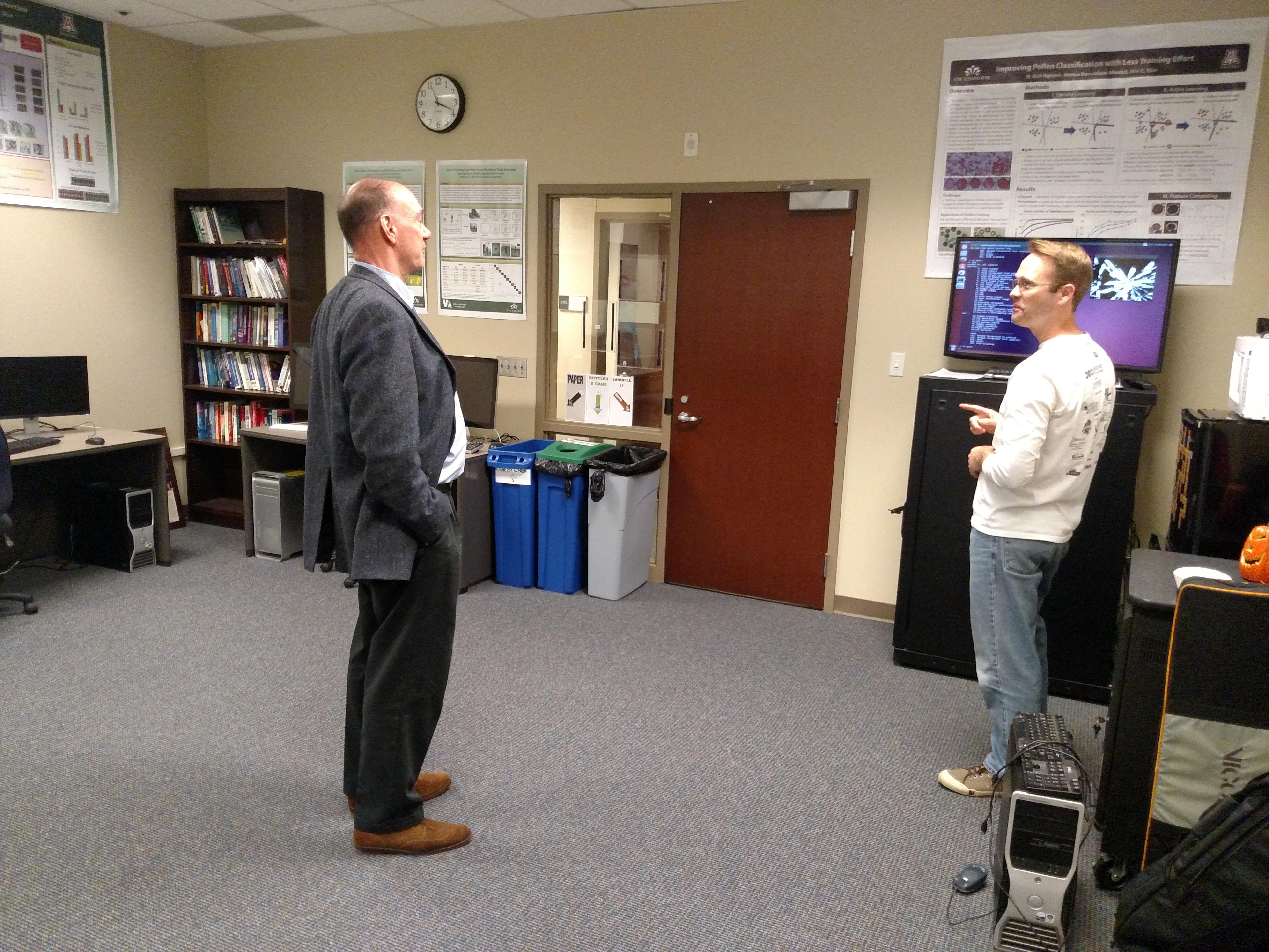 Dr. Bowyer Visit